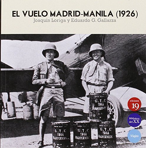 El Vuelo Madrid-Manila 1925