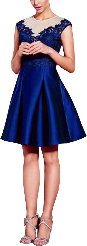 SecretCastle Women's Cute Short Satin Party Dresses US226W