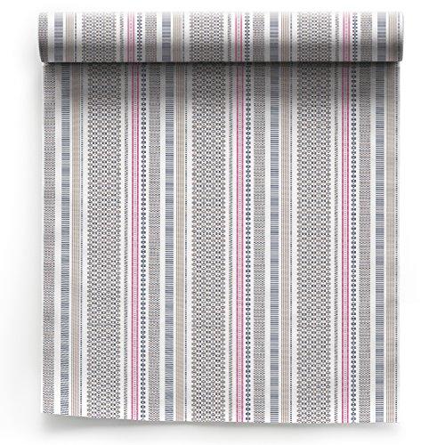 Serviette de table en coton 32x32cm - Rouleau de 6 serviettes - motifs/imprimés Textil