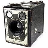 Kodak Brownie Six 20 E Modèle Vintage années 50 's Art Deco Boîte de appareil photo