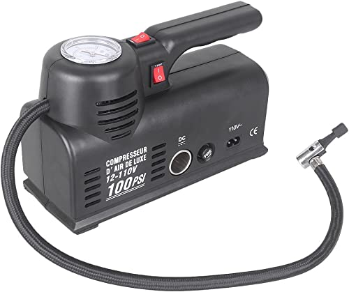 2021 Mallofusa 100PSI 12V outlet online sale Mini Air Compressor Tire Inflator Portable for Emergency 2021 Car Truck RV Auto Bicycle Electric online sale