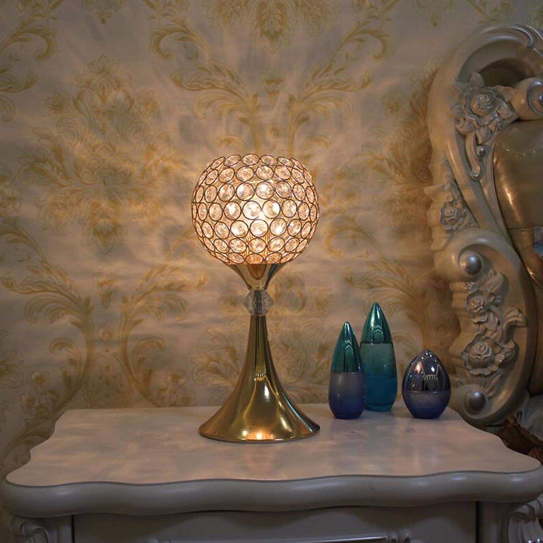 SED Tischlampe-Einfache und stilvolle Tischlampe Kreative Tischlampe Schlafzimmer Nachttischlampe Romantische Kristall Lampe Dimmbare Tischlampen Arbeiten Kinder lesen dekorative Lichter