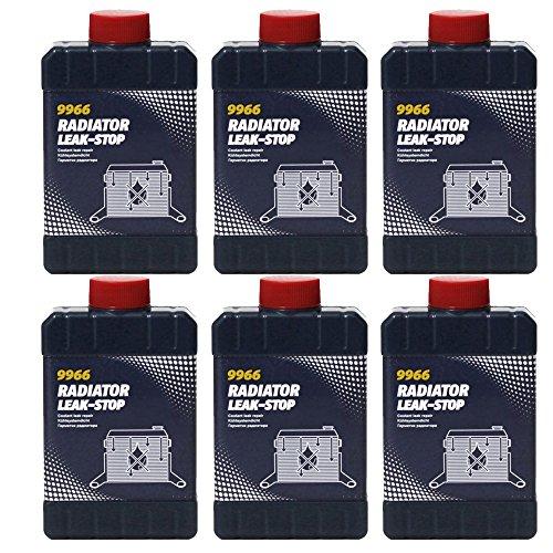 6 x 325ml MANNOL 9966 Radiator Leak Stop / Kühler Dichtmittel Zusatz