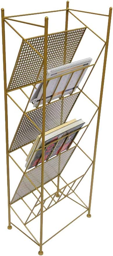 SUZYN Max 83% OFF Bookcases Rack Direct sale of manufacturer Propaganda Iron Modern Wrought F