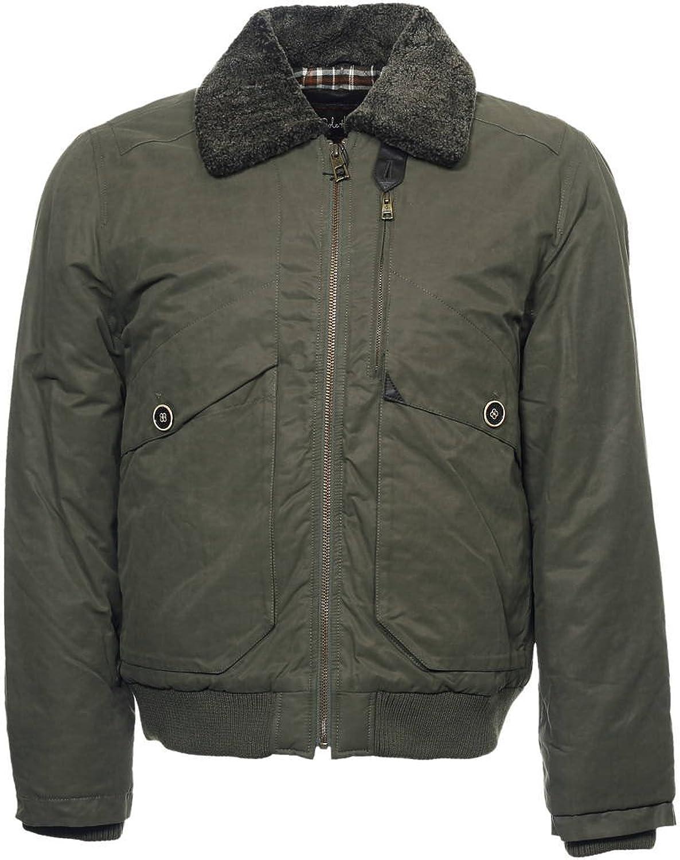 Cole Haan Men's Olive Green Bomber Jacket