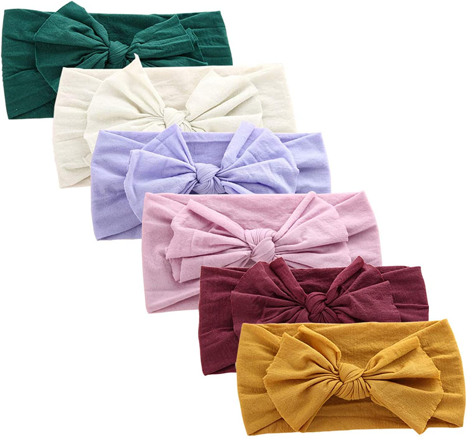 6PCS Cute Headbands Low price for Baby wit Max 82% OFF Girl Nylon Girls