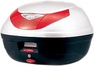 GIVI (ジビ) リアボックス 35L パールホワイト モノロック E350 FLOWシリーズ E350B906 68041