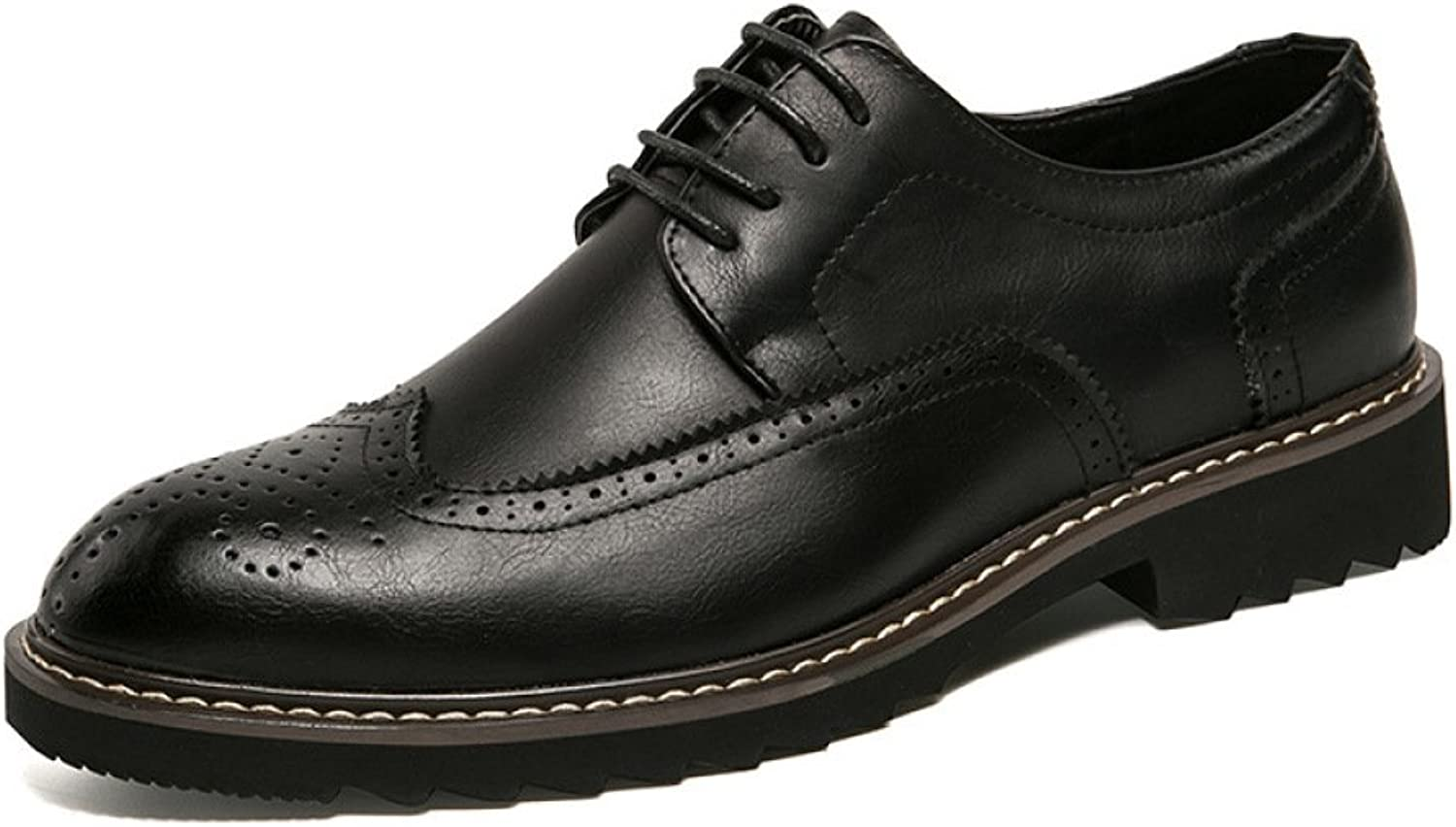 DHFUD Breathable Carved Men's shoes