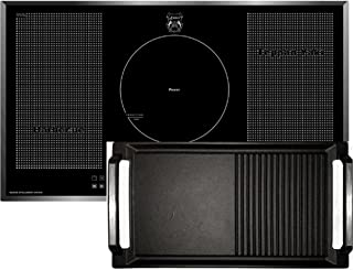Kaiser KCT 97 FI La Perle Plaque de cuisson à induction avec plaque de cuisson Free Zone 90 cm, autonome, barbecue, Teppan...