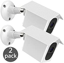 Arlo Pro 2 / Pro Wall Mount Bracket, EEEKit 2-Pack Metal Weather Proof 360 Degree Protective Adjustable Indoor/Outdoor Mount Cover Case for Arlo Pro 2/Pro Security Camera (White)
