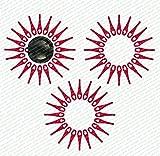 60 Ersatzmesser, Messer, Schneidplättchen, Kunststoffmesser mit Schneidscheibe, passend für Akku Rasentrimmer FRTA 20 A1 - LIDL IAN 282232
