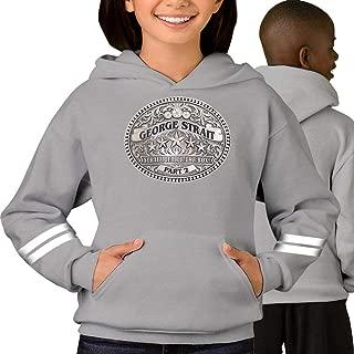 Anime Logo Ge-orge Strait Kid's/Youth Hoodie, Hooded Sweatshirt for Boys/Girls