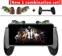 Mobile Game Controller Gamepad Compatible with PUBG Mobile/Compatible with Fortnitee Mobile for iPhone/Android, IFYOO Z108 Sensitive Shoot and Aim Triggers for L1R1 with Gaming Grip