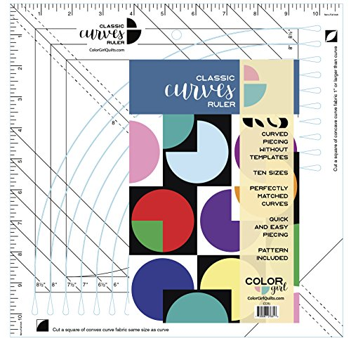 Color Girl Quilts Classic Curves Ruler
