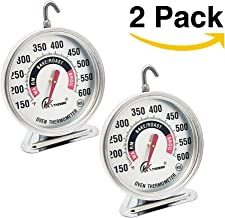 "2 Pack Large 3"" Dial Oven Thermometer – KT THERMO NSF-approved accurately.."
