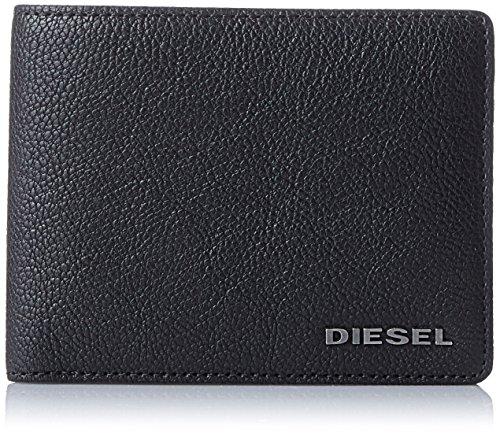 Diesel Herren jem-j Neela Xs Geldbörse, Schwarz (Black), 2x8.5x11 cm