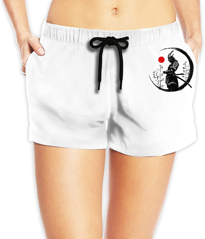 Japanese Samurai Women Beach Max 57% OFF Wholesale Shorts Sports Trunks Swimwear Quick