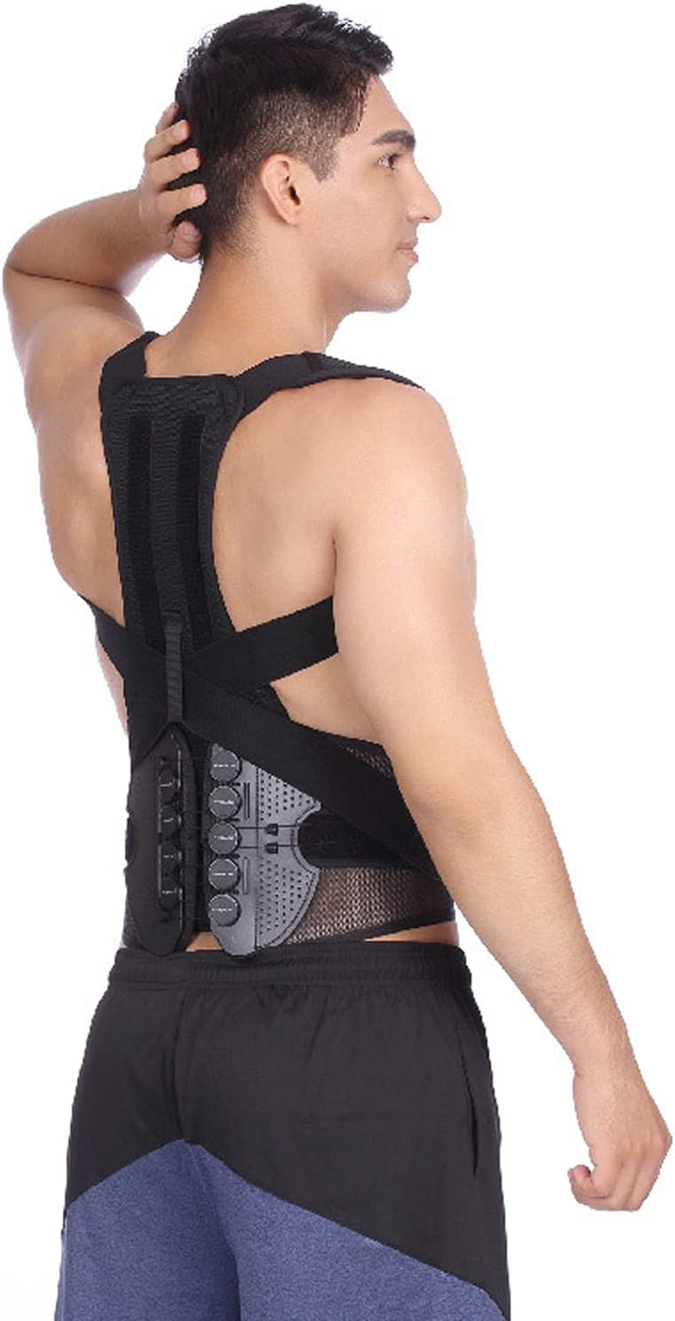 JQAM Posture Corrector for Men Correct 1 year warranty Type Pulley Kyphosis Rope Max 58% OFF