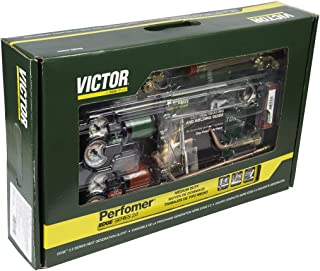 Victor Performer 540/510 Edge 2.0 Medium Duty Acetylene Cutting/Heating/Welding Outfit CGA 510, Package Size: 1 Each