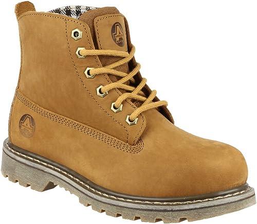 Amblers Safety Pour des hommes FS103 Leather Safety bottes marron