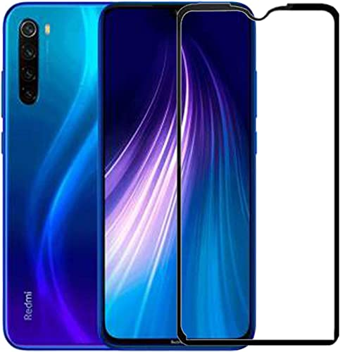 100FIT 11D Tempered Glass With Curved Edges And 9H Hardness Full Glue Edge To Edge Screen Protection For Redmi Note 8 2019