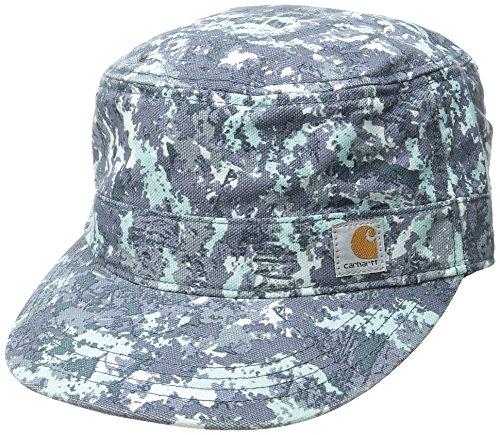 Carhartt Women's Hendrie Military Cap Moisture Wicking Sweatband Closure,Hybrid Camo Blue,One Size