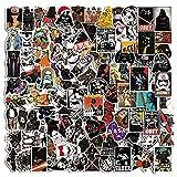 100 Stück Aufkleber, Star Wars-Aufkleber, Wasserdicht Vinyl Star War Aufkleber, Stickers Graffiti Decals für Laptop Skateboard Fahrrad Kinder