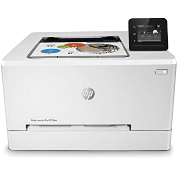 HP Color LaserJet Pro M452nw - Impresora láser a color (A4, hasta 27 ppm, 750 a 4000 páginas al mes, USB 2.0 alta velocidad, Red Gigabit Ethernet 10/100/1000 Base-TX incorporado, USB de