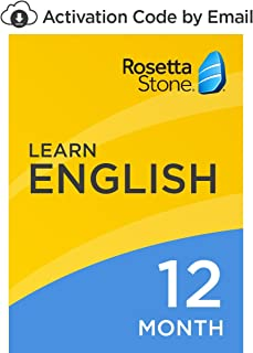 Rosetta Stone: Learn English (American) for 12 months on iOS, Android, PC, and Mac [Activation Code by Email]