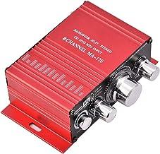 Mini amplificador de audio para el hogar, adaptador estéreo de alta fidelidad del receptor estéreo de alta fidelidad del sonido de alta fidelidad del sonido envolvente de doble canal 12V para el coche