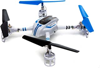 Blade BLH9750 Ozone BNF Basic Quadcopter with Safe Technology, White and Blue