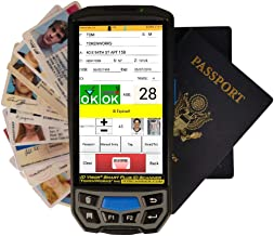 IDVisor Smart Plus - Drivers License and Passport Scanning Age Verification + Charger Cradle & Hand Strap