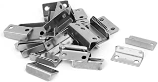 uxcell Home Cabinet Drawer Door 29mmx14mmx8.5mm L Shaped Metal Lock Strike Plate 40pcs