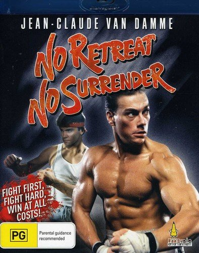 No Retreat No Surrender [Blu-ray] [Import]