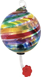 Glass Eye Studio Hummingbird Feeder Limited Edition Rainbow Pride