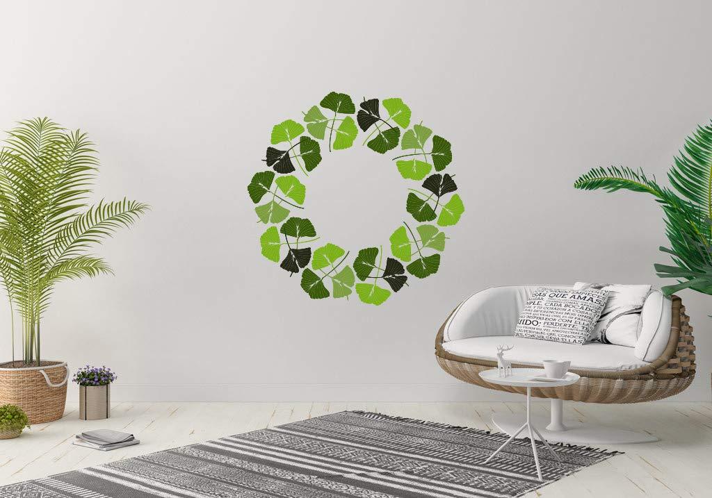 Ginkgo Biloba Leaf Plant Aesthetic Sacramento Mall Room Vinyl New Free Shipping M Sticker Wall Car