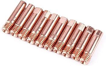 iFCOW 10St Mb-15Ak Mig Mag M6 0. 8Mm / 1. 0Mm Metalen Lastoorts Contactpunten Highq