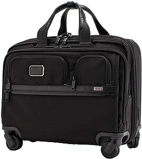 [ トゥミ ] TUMI キャリーケース 27L ALPHA 3 デラックス 4ウィール ラップトップ ケース ブリーフ アルファ 3 Deluxe 4 Wheeled Laptop Case Brief 1171581041 ブラック Black [並行輸入品]