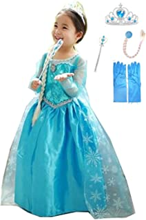 Elsa Halloween Costumes For Kids.Amazon In Elsa Costumes Dressing Up Costumes Toys Games