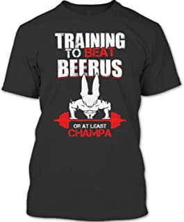 Training to Beat Beerus Or at Least Champa T Shirt, Dragon Ball T Shirt