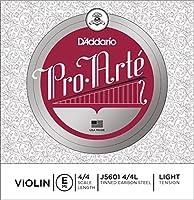 CUERDAS VIOLIN - DエAddario (Pro Arte J56) (Juego Completo) Medium Violin 4/4