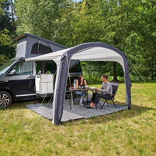 Reimo Tent Technology Bus Luft Sonnensegel 400 | 220x180 cm | 5/8 mm Keder Schleusenstab und Schlaufen