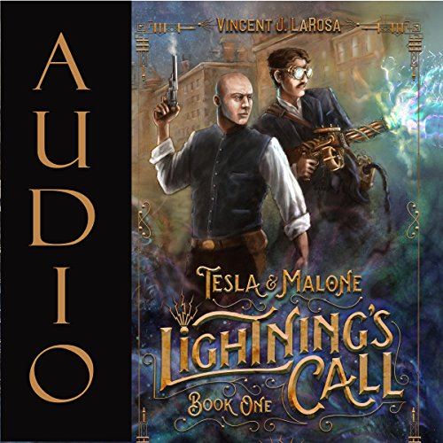 Tesla & Malone audiobook cover art