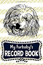 My Furbaby's Record Book: Coton de Tulear Dog Puppy Pet Vaccination, Immunization, Health Wellness Record Journal, Appointment Organizer For Dog Owners and Puppy Lovers