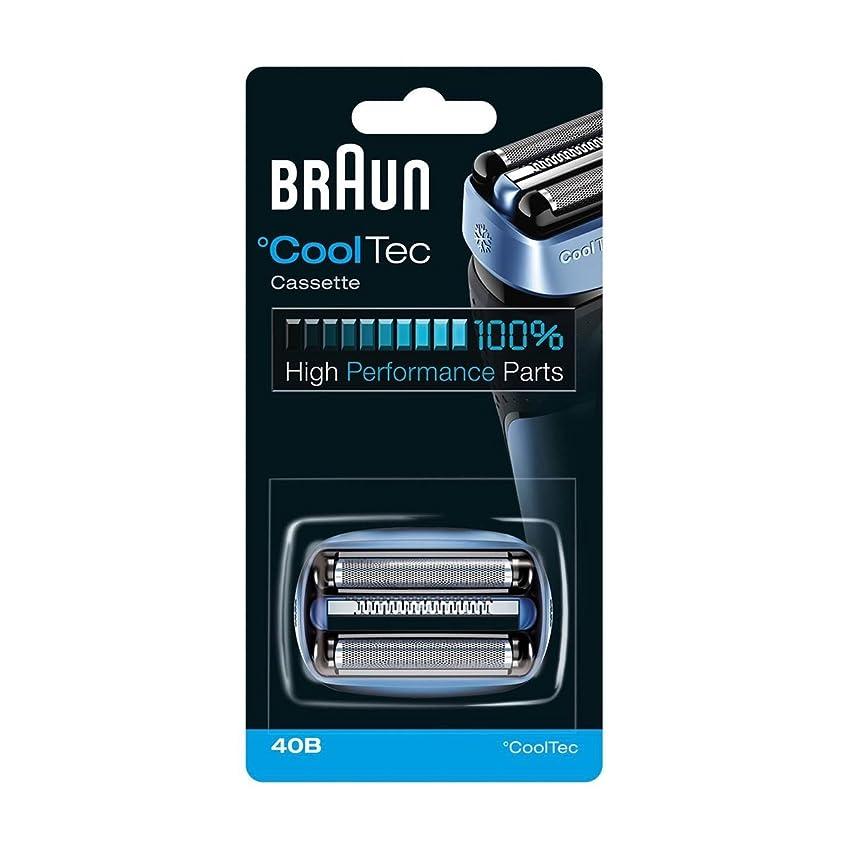 霧深い土器豪華な【並行輸入品】BRAUN 40B Foil and Cutter Replacement Cartridge for CoolTec shavers series