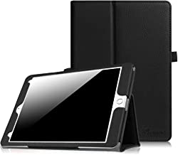 Fintie iPad Pro 9.7 Case, Premium Vegan Leather Folio [Slim Fit] Standing Smart Protective Cover with Auto Sleep/Wake Feature for Apple iPad Pro 9.7 Inch 2016 Release Tablet, Black