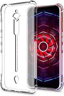 ZTE nubia レッド Magic 3 ケース 透明TPU カバー さを魅せるスマホの美し 存在感ゼロ 巧みシリーズ TPU 透明 保護 ケース カバー 背面 ンプロテクター シェル 軽量 薄型 シェル 耐衝撃 指紋防止 衝撃 吸収 擦り傷防止 クリア ソフト カバー ケース 透明シェル (ZTE nubia レッド Magic 3)