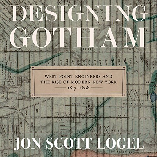 Designing Gotham audiobook cover art