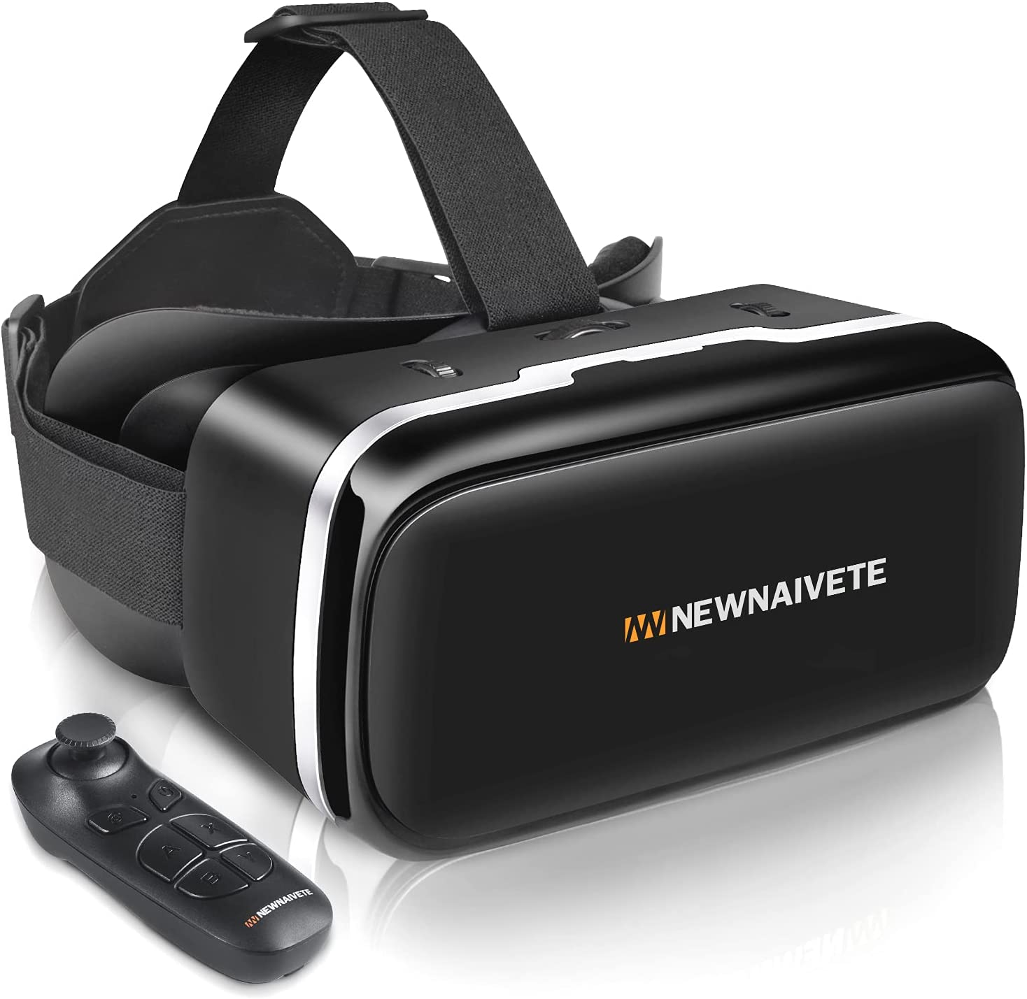 VR Headset with Remote Controller 3D Max 42% OFF Glasses Portland Mall Virtual Goggles Re