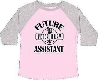 inktastic Vet Future Veterinary Assistant Toddler T-Shirt